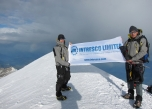 A team of INTRESCO LTD (Ukraine) made the ascent of Mont Blanc